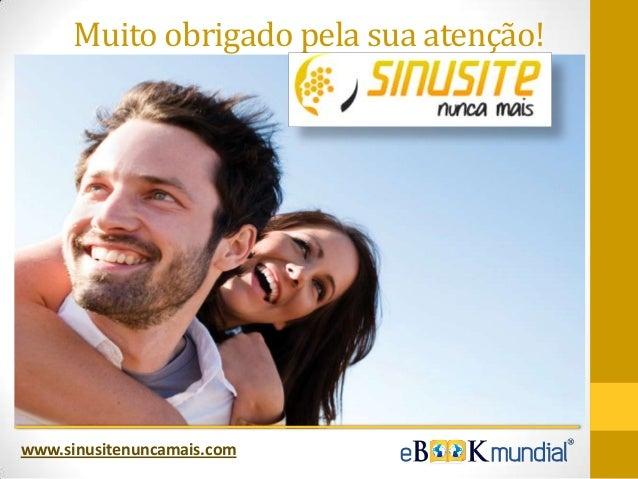 Ebook Sinusite Nunca Mais