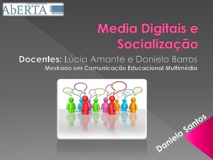    Objectivo: Caracterizar a utilização    social dos media digitais pelos jovens    e sua relação com o processo    pess...