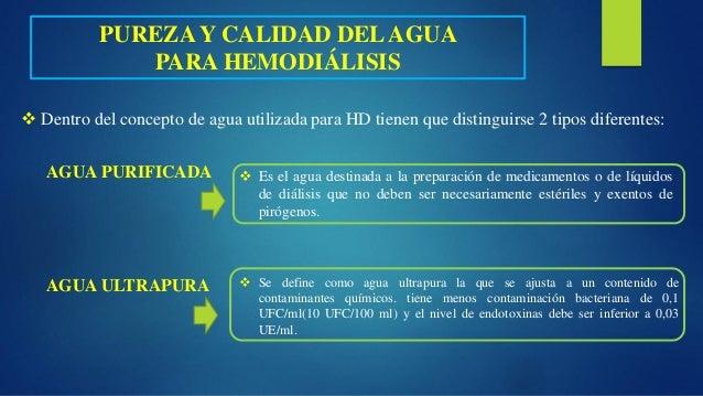 Tratamiento agua en hemodialisis - Tratamiento del agua ...