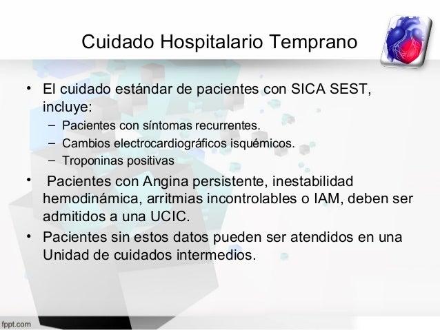 Tratamiento angina inestable