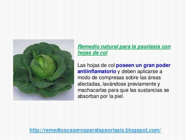 Remedio natural para la psoriasis conhojas de colLas hojas de col poseen un gran poderantiinflamatorio y deben aplicarse a...