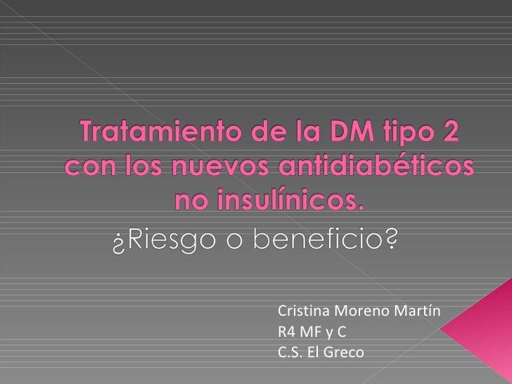 Cristina Moreno Martín R4 MF y C C.S. El Greco