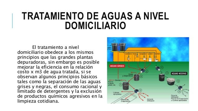 Tratamiento de aguas domesticas expo for Depuradora aguas residuales domestica