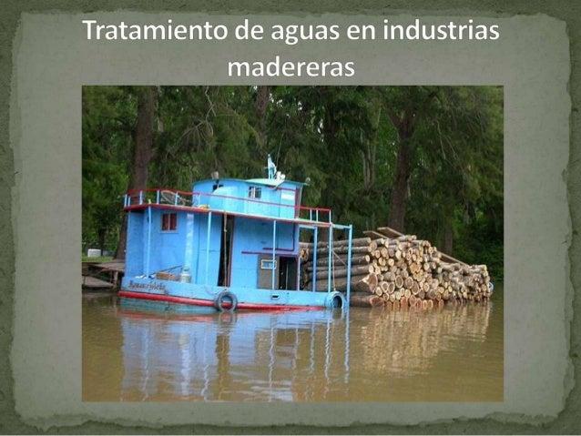  Uso básico: - Un uso básico del agua en aserraderos esmayormente para proporcionar enfriamiento ala sierra principal (s...