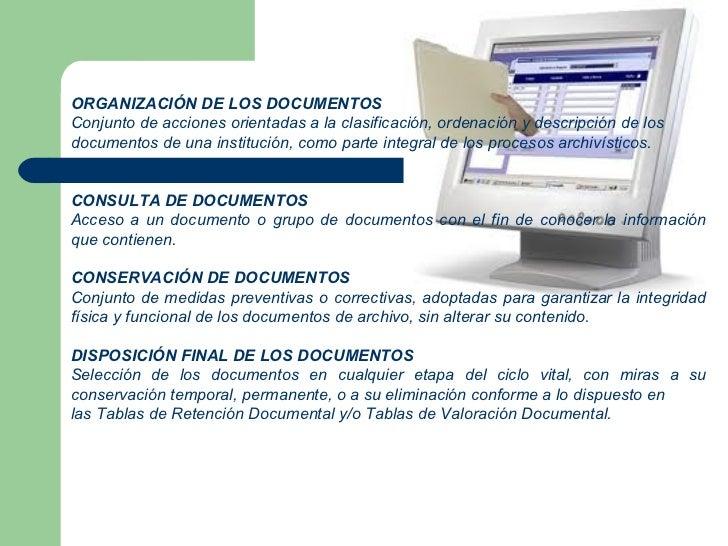 Tratamiento de documentos electronico