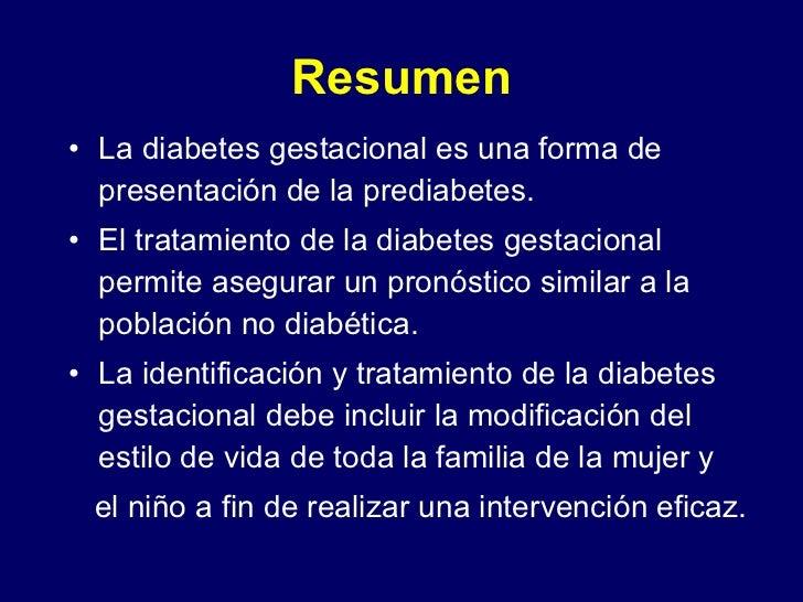 Tratamiento de la diabetes gestacional