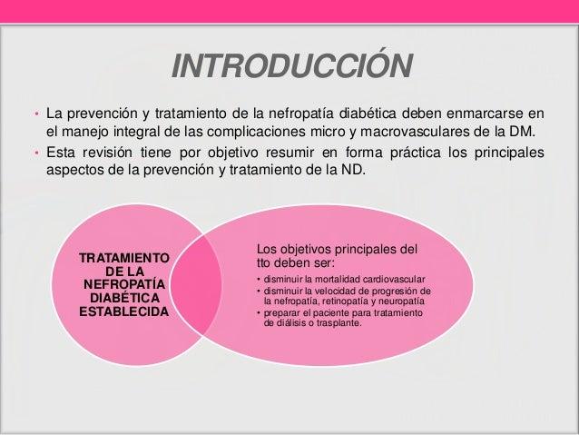 Tratamiento de nefropatía diabética Slide 2