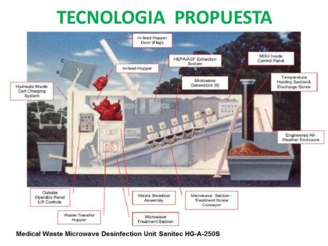  La recolección y transporte externo de los desechos deben ser realizadas en vehículos diseñados para este fin y de uso e...