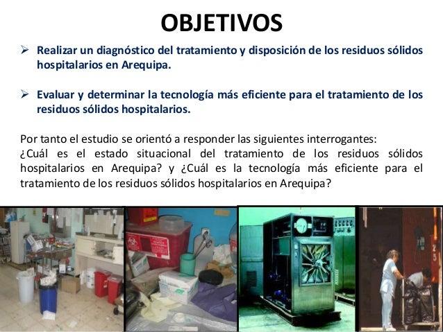 AREA DE ESTUDIO Se desarrolló En los hospitales: Honorio Delgado Espinoza y Goyeneche del MINSA; el HNCASE (Hospital Nacio...