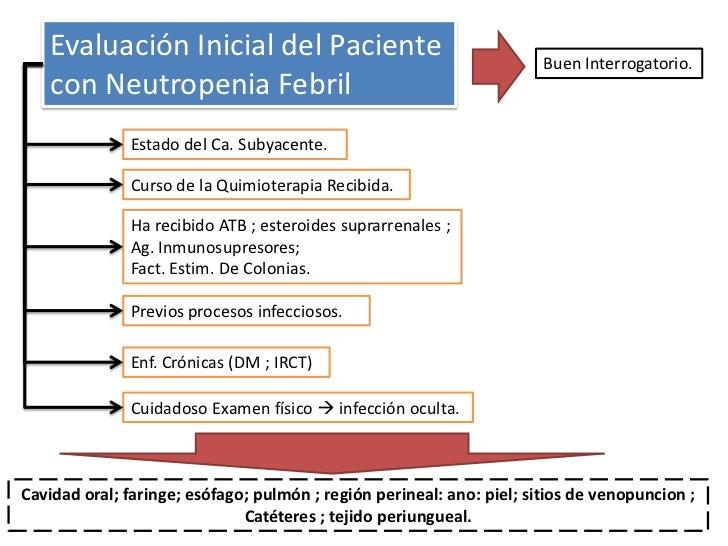 Tratamiento emp rico de la neutropenia febril for Tratamiento antibacteriano
