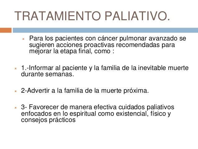 Tratamiento para cancer pulmonar estadio iv - Tratamiento para carcoma ...