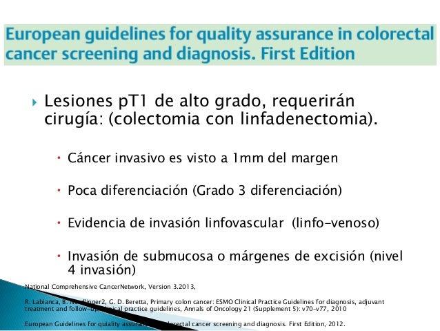 Tratamiento quirurgico del cancer de colon - Tratamiento para carcoma ...