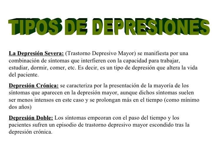 Tratamientos naturales para la depresion
