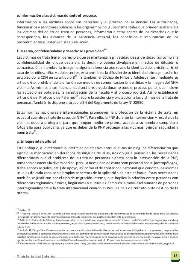 Protocolo para prevenir, reprimir y sancionar la trata de personas, especialmente mujeres y niños, que complementa la Conv...