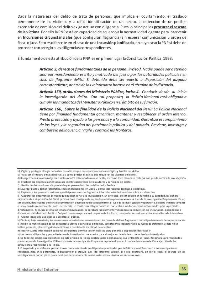 2.3.2 Rol de la División de Investigación de Delitos Contra la Trata de Personas (DIVINTRAP) en la materia La DIVINTRAP fu...