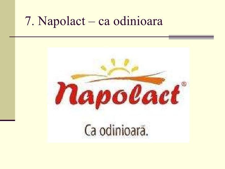 7. Napolact – ca odinioara