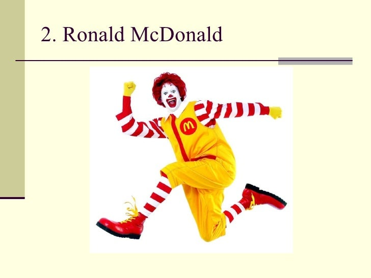 2. Ronald McDonald