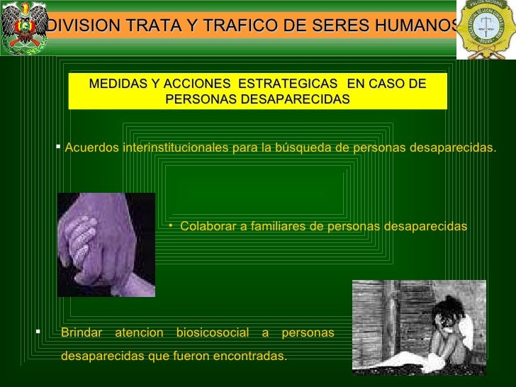 Trata y trafico de personas en bolivia for Porte y trafico de estupefacientes codigo penal