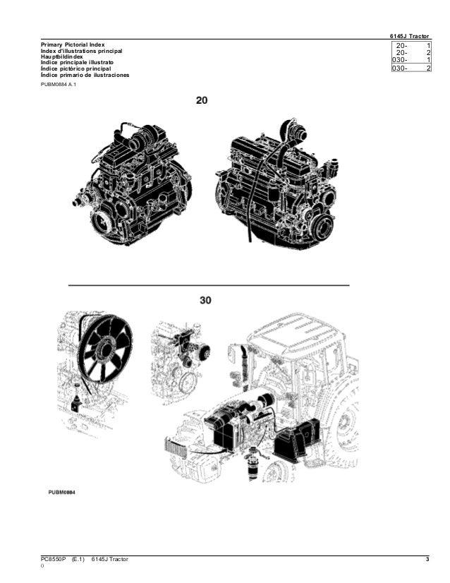 Catálogo Trator 6145 j Jonh Deere