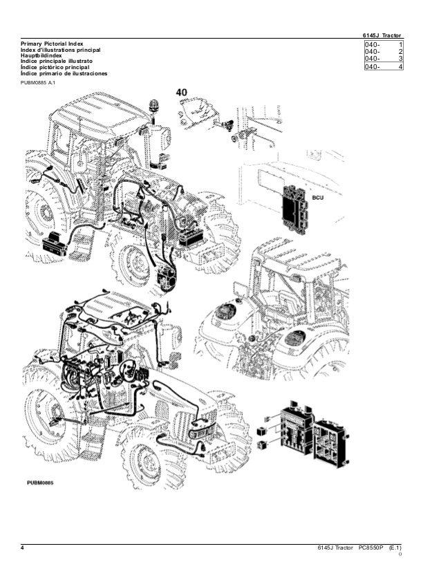 Catalogo PeçasTrator 6145 j