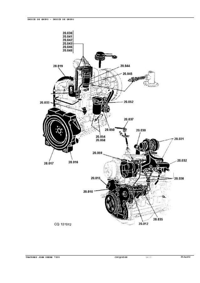Trator Jonh Deere 7500
