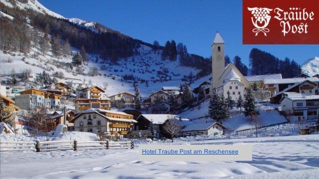 Hotel Traube Post am Reschensee