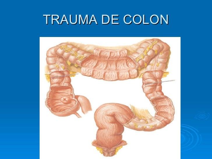 TRAUMA DE COLON