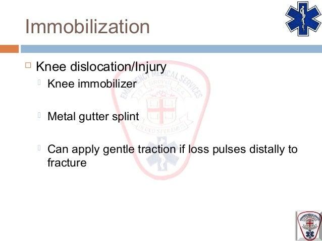 Gutter Splint For Knee Gutter Finger Splint Brace For