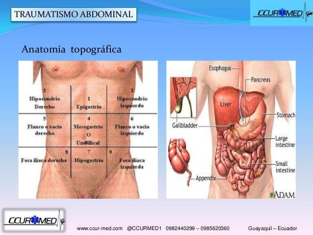 Trauma de abdomen CCUR-MED