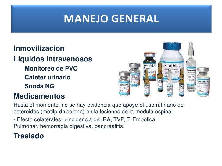 TRATAMIENTO QUIRURGICO DE           EMERGENCIAHay 2 indicaciones: - Progression de deficit neurologico. - Luxación con def...