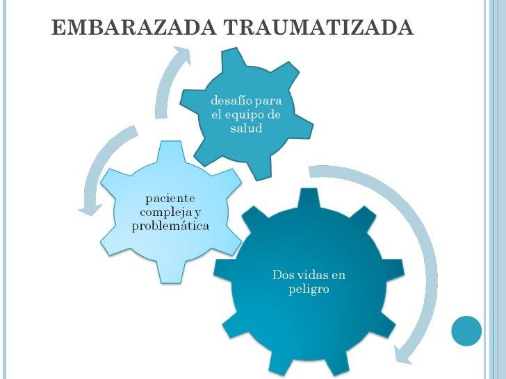 EMBARAZADA TRAUMATIZADA