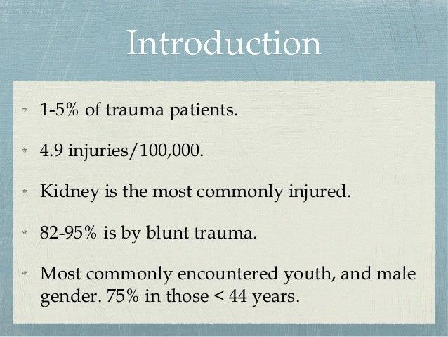 Approach to Trauma in Urology Slide 3