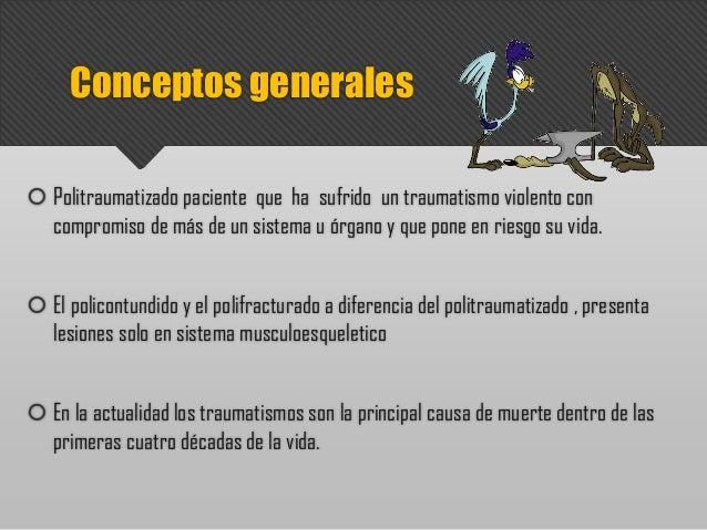 Trauma musculoesqueletico Slide 2