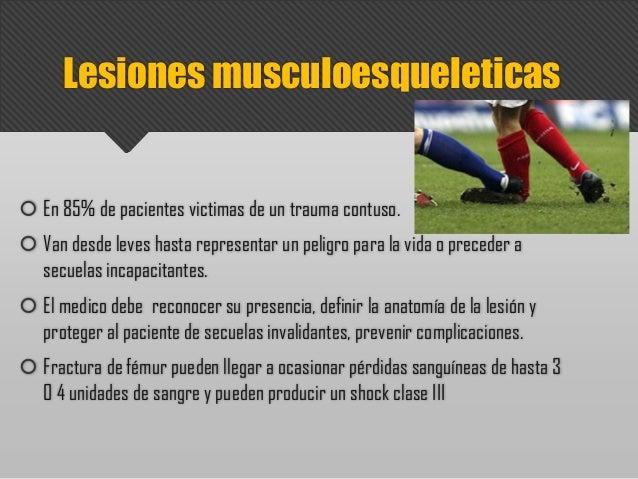 Trauma musculoesqueletico Slide 3