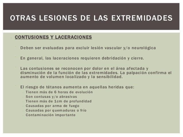OTRAS LESIONES DE LAS EXTREMIDADES ARTICULACIONES   Generalmente las lesiones articulares que no tienen luxaciones (la  ...