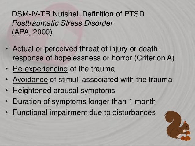 Trauma, PTSD & Traumatic Grief