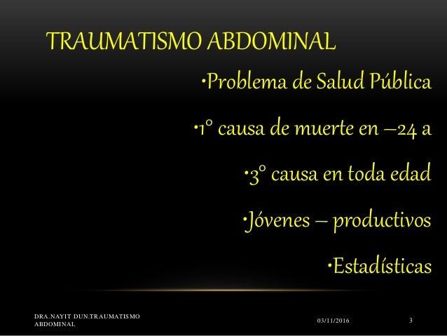 Traumat abdom nayit dun udo Slide 3