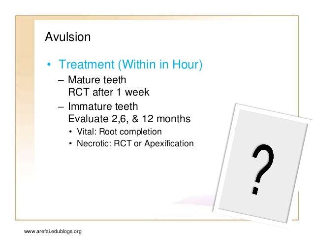 Esthetic Management of an Anterior Avulsed Tooth: A Case Report