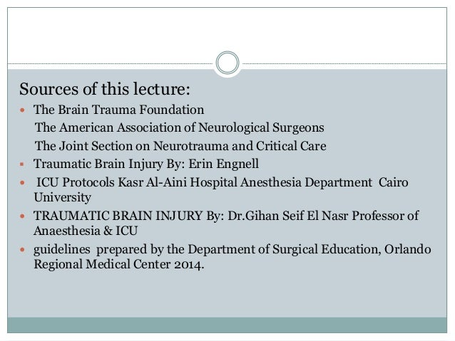 brain trauma foundation guidelines 2015 pdf