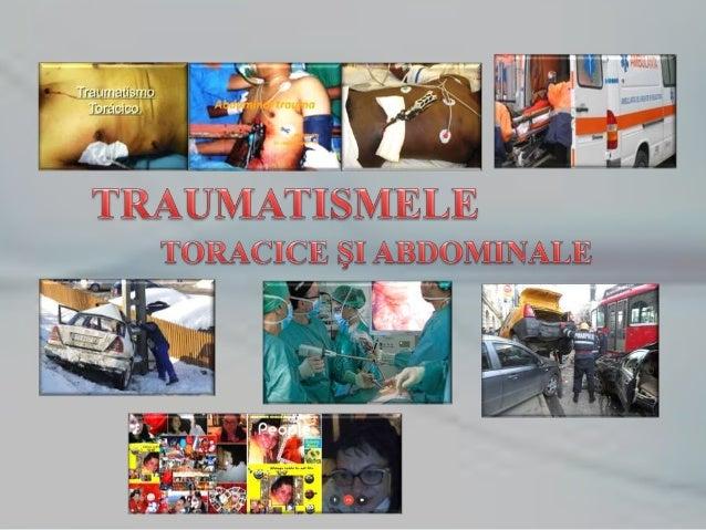 Deoarece traumatismele pot apare oriunde (pe stradă, la locul de muncă, acasă, în vacanţă etc.), şi sub diverse moduri: ac...