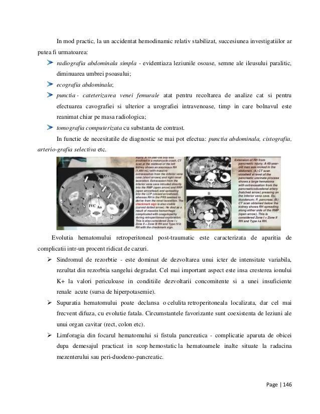 Traumatisme toracice si abdominale