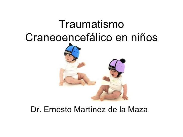 Traumatismo craneoencefalico en pediatria pdf