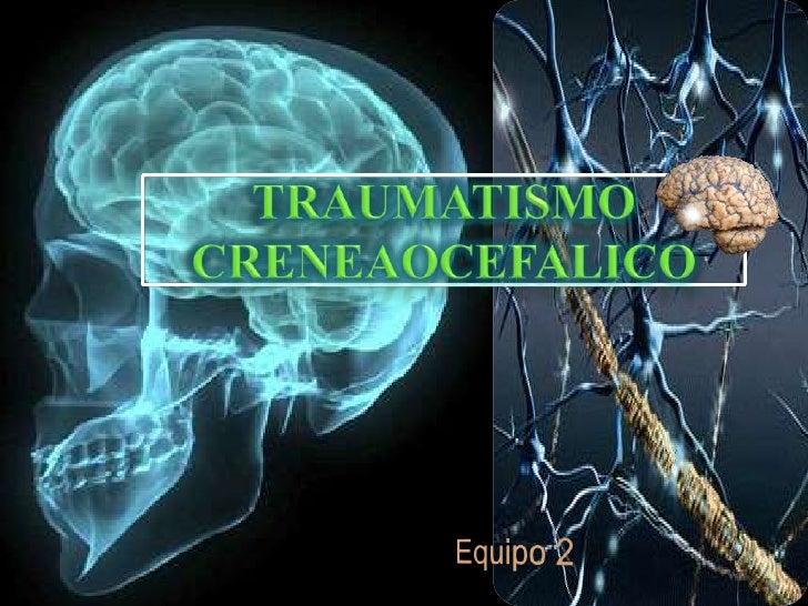 DEFINICION:     Es la alteración en la función     neurológica u otra evidencia de     patología cerebral a causa de una  ...