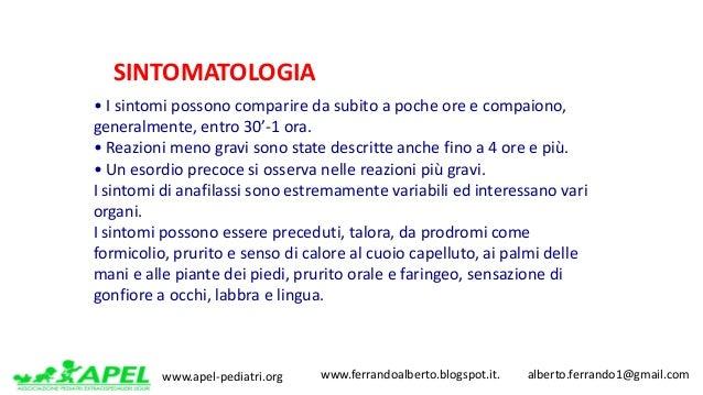 www.apel-pediatri.org www.ferrandoalberto.blogspot.it.alberto.ferrando1@gmail.com •Isintomipossonocomparired...