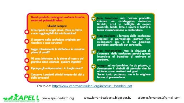 www.apel-pediatri.org www.ferrandoalberto.blogspot.it.alberto.ferrando1@gmail.com Tratto da: http://www.centroant...