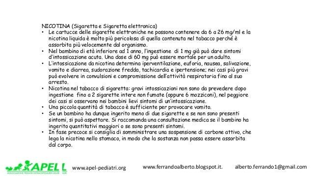 www.apel-pediatri.org www.ferrandoalberto.blogspot.it.alberto.ferrando1@gmail.com NICOTINA (Sigaretta e Sigaretta...