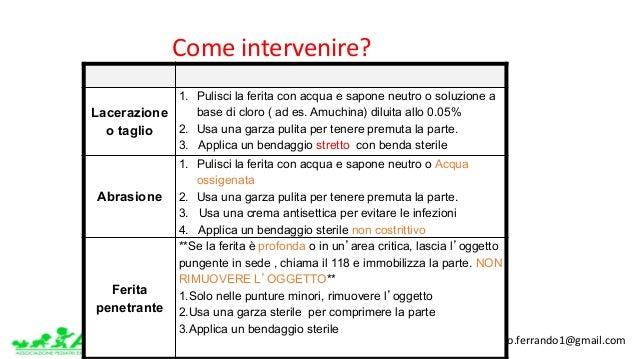 www.apel-pediatri.org www.ferrandoalberto.blogspot.it.alberto.ferrando1@gmail.com Laceration Abrasion Puncture La...