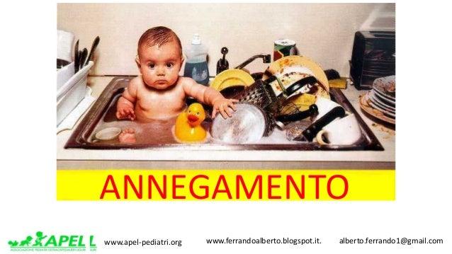 www.apel-pediatri.org www.ferrandoalberto.blogspot.it.alberto.ferrando1@gmail.com ANNEGAMENTO