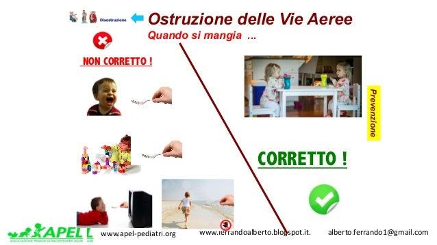 www.apel-pediatri.org www.ferrandoalberto.blogspot.it.alberto.ferrando1@gmail.com Ostruzione delle Vie Aeree Quan...