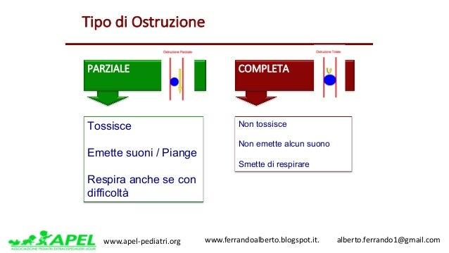 www.apel-pediatri.org www.ferrandoalberto.blogspot.it.alberto.ferrando1@gmail.com TipodiOstruzione PARZIALE COM...